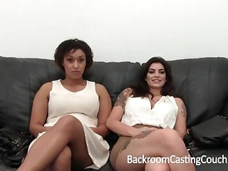 Outstanding Bi-Racial Hefty Glad eye 3Some Cement